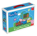 Toy - Peppa Pig Giant 15 Piece Shaped Train Floor Jigsaw Puzzle