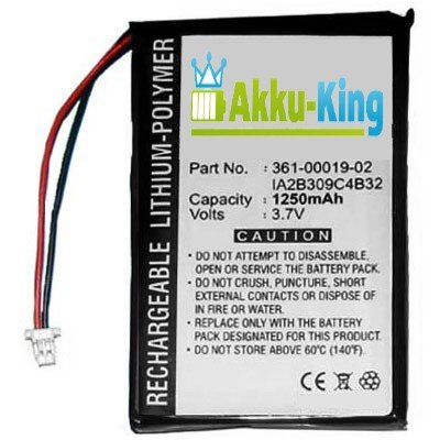 Akku Li-Polymer f&#252;r Garmin N&#252;vi 200 200w 250 252w 260 270 465 780 1400 1490 - 1200mAh