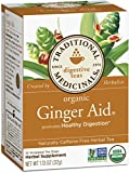 Traditional Medicinals Organic Ginger Aid, 16-Count Boxes (Pack of 6)