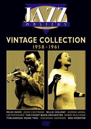 Various Artists - Jazz Masters: Vintage Collection 1958 - 61 [DVD]