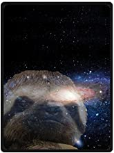 Sloth Nebula Galaxy Space Universe Soft Fleece Travel Blankets Throws - 58 by 80 Inch