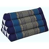 Kapok Thaikissen, Dreieck in verschiedenen Farben (82200 - blau)