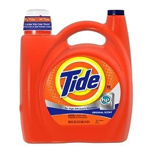 Tide He Original Scent Liquid Laundry Detergent 150 Fl Oz