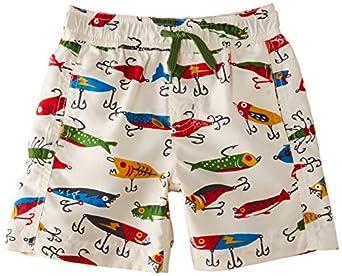 Hatley boys swim fishing lures trunks clothing for Fishing swim trunks