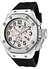 Swiss Legend Men s 10541-02 Trimix Diver Collection Chronograph Black Rubber Watch