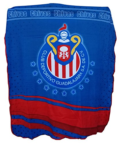 chivas-del-guadalajara-light-full-size-blanket-light-weight-new-in-original-package-made-in-mexico