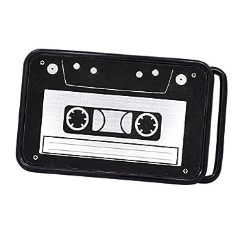 Buckle Rage Unisex Vintage Cassette Tape Player Music Belt Buckle