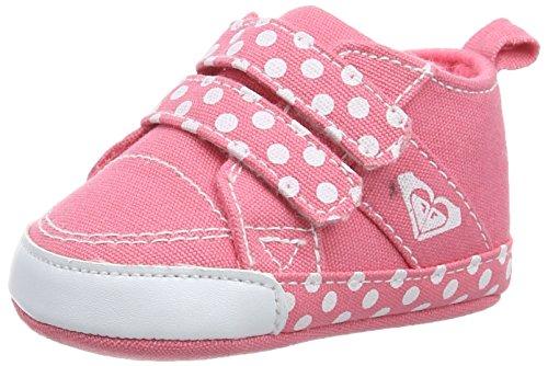 Roxy Canvas Sneaker Scarpe da Ginnastica, Rosa, 0-6 mesi
