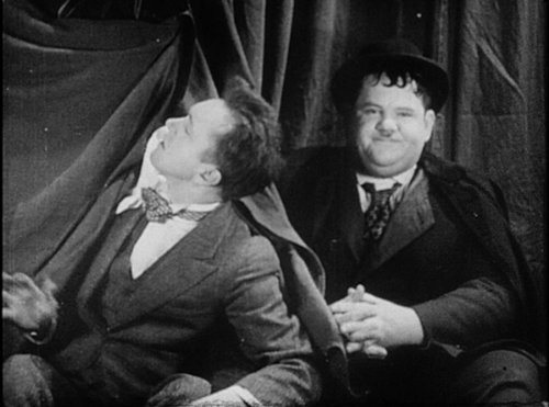 Ontic Antics Starring Laurel and Hardy; Bye Molly (Institutional Use)