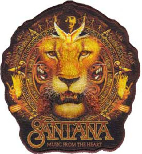 Application Santana Lion Patch