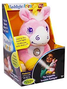 Flashlight Friends - The Huggable Loveable Child's Flash Light Unicorn