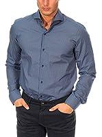 Mc Gregor Camisa Hombre (Azul / Gris)