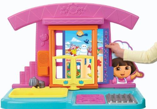 Fisher price dora la exploradora fiesta food cocina - Dora la exploradora cocina ...
