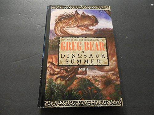 dinosaur-summer-by-greg-bear-author-of-eon-1st-edition-2-1998-hc