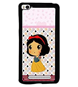 PRINTSWAG CARTOON GIRL Designer Back Cover Case for XIAOMI MI4I