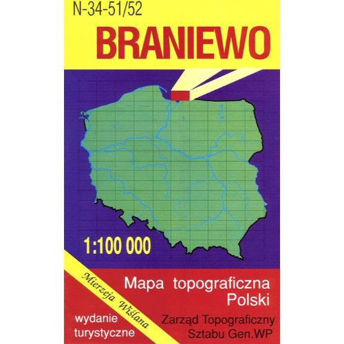 Braniewo Region Map