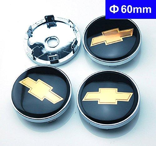 4pcs-w209-60mm-car-emblem-badge-wheel-hub-caps-centre-cover-black-chevrolet-cruze-silverado-volt-mal