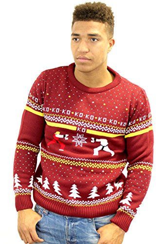 official-street-fighter-ken-vs-ryu-christmas-jumper-l