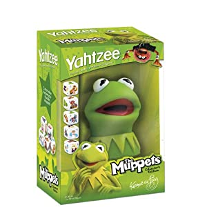 Muppet games: Yahtzee The Muppets edition!