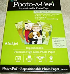 Photo - A - Peel High Gloss Repositionable Photo Paper 4\