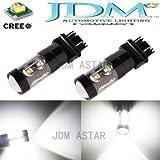 JDM ASTAR Extremely Bright Max 50W High Power 3056 3156 3057 3157 Cree LED Bulbs ,Xenon White