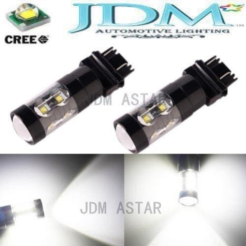 Jdm Astar Extremely Bright Max 50W High Power 3056 3156 3057 3157 Cree Led Bulbs ,Xenon White