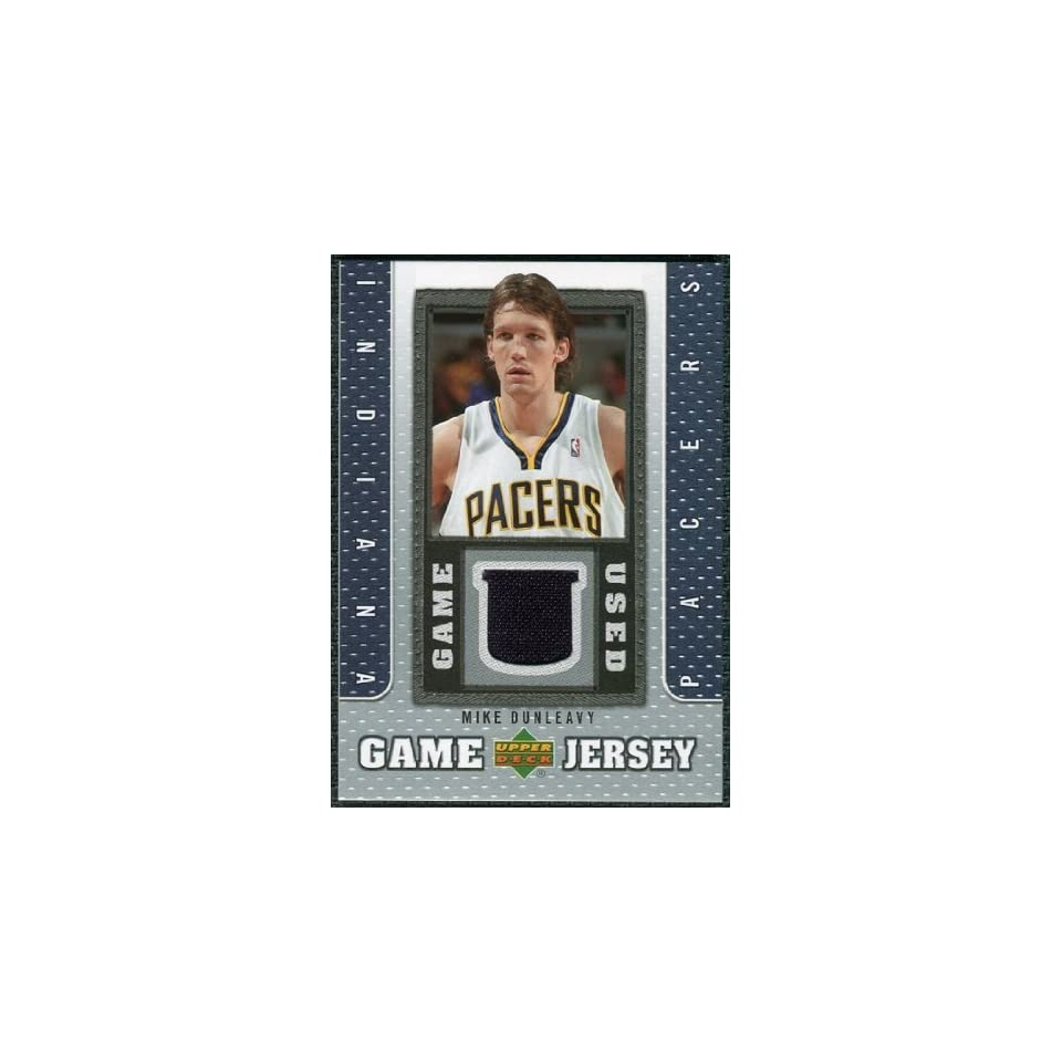 /08 Upper Deck UD Game Jersey #MD Mike Dunleavy Sports Collectibles