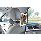 iPad Tablet Headrest Mount Universal Car Headrest Holder for Portable DVD Player, Kindle, Samsung Tablet, iPad Air / Mini and All 7-10 inches Devices