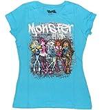 Monster High Graffiti 5 Character Girls T-shirt