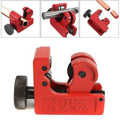 GOCHANGE Mini Tube Cutter Slice Copper Aluminum Tubing Pipe Cutting Tool 3-22mm 1/8inch-7/8inch OD (Aluminum Cutter compare prices)