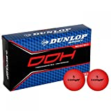 Dunlop Unisex DDH Ti 15 Pack Golf Balls Red One Size