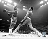 Muhammad Ali vs Joe Frazier Black & White Photo 8x10