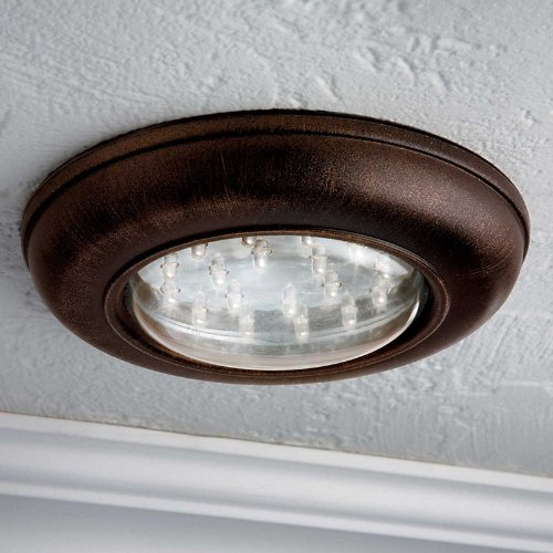 Wireless Led Ceiling Light With Remote Control-Bronze - Improvements