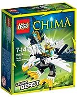 Lego Legends Of Chima - Les Animaux Légendaires - 70124 - Jeu De Construction - L'aigle Légendaire