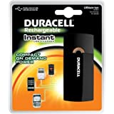 Duracell Instant USB Charger/Includes Universal Cable with USB & mini USB, 3 Count
