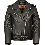 Ladies Leather Motorcycle Leather Jac…