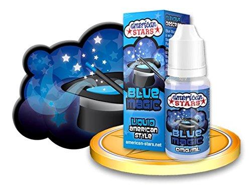 """Außergewöhnliches E Liquid wie aus den USA !!! DAS Geschmackserlebnis für alle Dampfer """"BLUE MAGIC"""" Blaubeere Erdbeer Menthol Liquid E-Liquid für E Zigarette Flavourtec American Stars"""