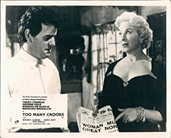 TOO MANY CROOKS GEORGE COLE BRENDA DE BANZIE LOBBY CARD at Amazon's
