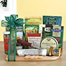 Ultimate Meat and Cheese Gift Basket Great Fathers Day Meat and Cheese Gift Basket
