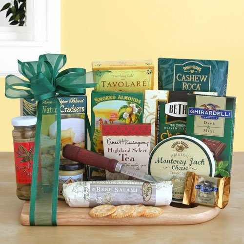 Ultimate Meat and Cheese Gift Basket | The Deluxe