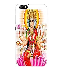 ColourCraft Maa Laxmi Design Back Case Cover for HUAWEI HONOR 4X