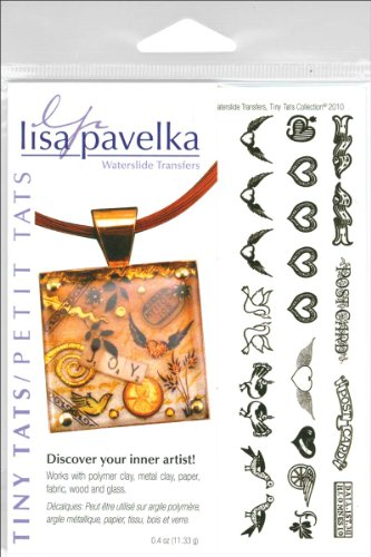 JHB Lisa Pavelka Waterslide Transfer Set-Tiny Tats-Over 100