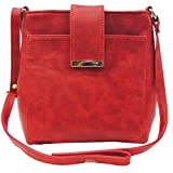Madame Exclusive Women's Sling Bag (Red,Me-Hr02Rd)