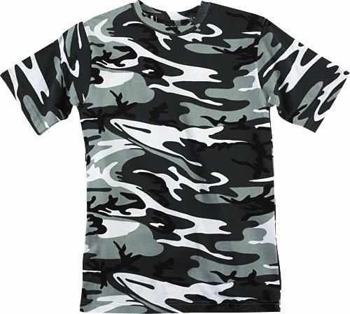 Code V Adult Camouflage T-Shirt (URBAN WOODLAND) (XL)