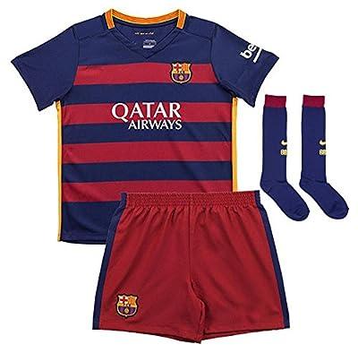 caxa FC Barcelona Youths Home Kit Shirt&Shorts&Socks Soccer Jersey