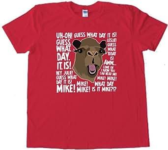 Hump Day! Insurance Camel - High Quality Fashion Tee Shirt - Red (XXL)