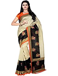 An Ethnic Affair Multicolor Bhagalpuri Silk Traditional Sarees With Blouse Piece (9181_Multicolor_FreeSize)
