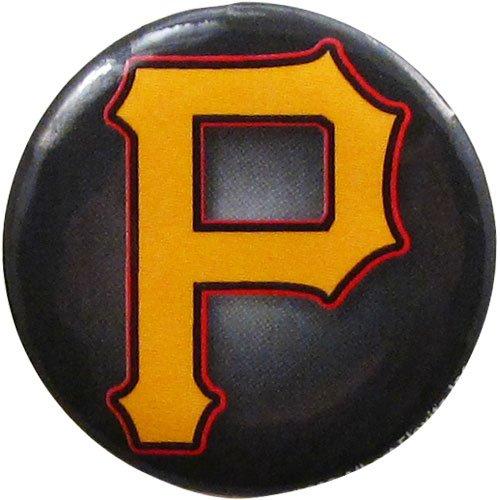 "Pittsburgh Pirates 1.25"" ""p"" Button"