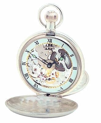 Woodford Pocket Watch 1066 Sterling Silver Twin Lid
