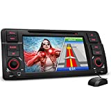 XOMAX-XM-BMW-E46-Autoradio-fr-3er-BMW-E46-Moniceiver-Naviceiver-mit-GPS-Navigation-NAVI-Software-inkl-Europa-Karten-Bluetooth-Freisprechfunktion-18-cm-7-Zoll-Touchscreen-DVDCD-Player-2x-USB-Anschluss-